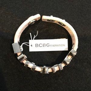 BCBGeneration TOUGH Leather Bracelet